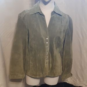 Love a Little suede Leather Jacket size L